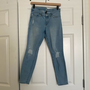 Gap Factory Light Wash Legging Skimmer Jeans
